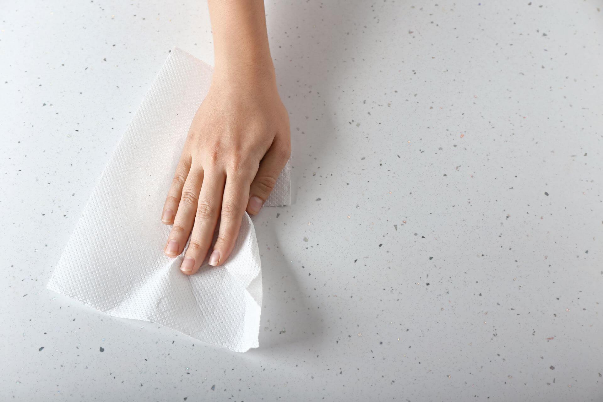 papierowe ręczniki jednorazowe
